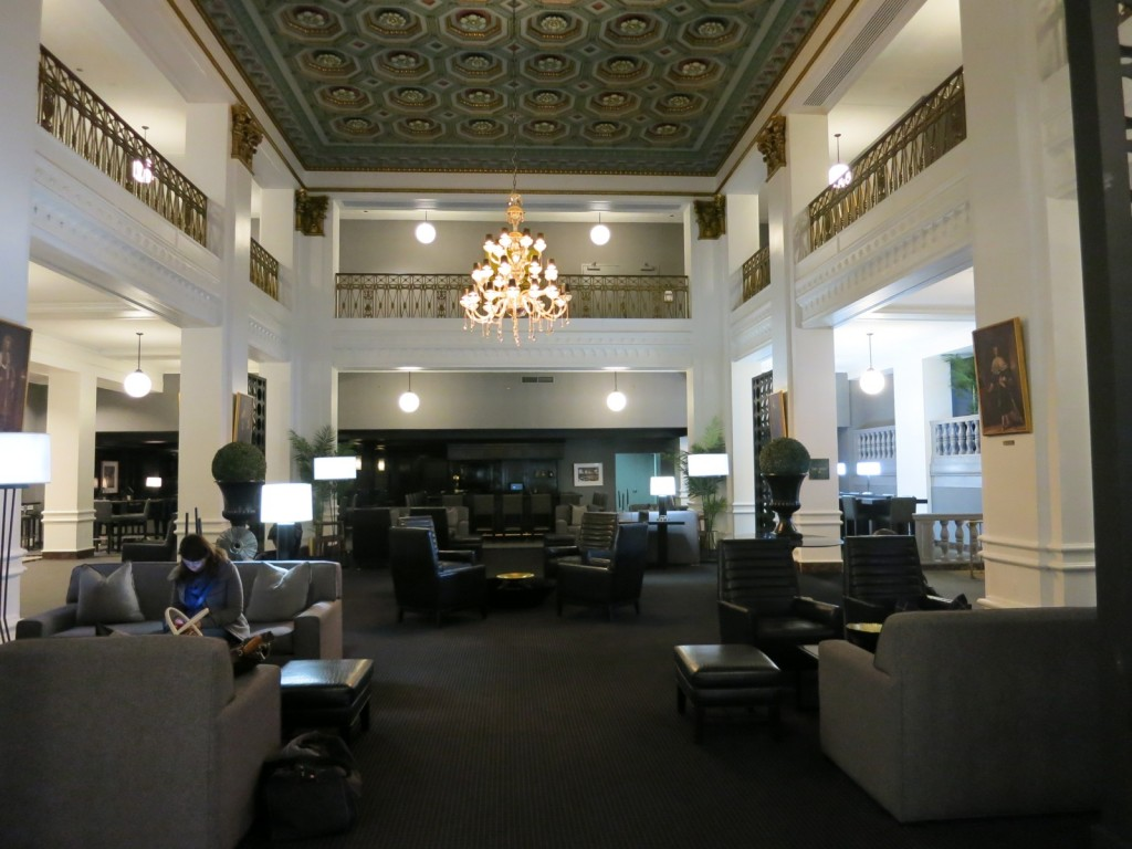 Lord Baltimore Hotel Lobby