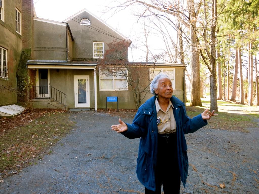 Doris Mack, Guide, Val Kill, Eleanor Roosevelt Home, Hyde Park NY