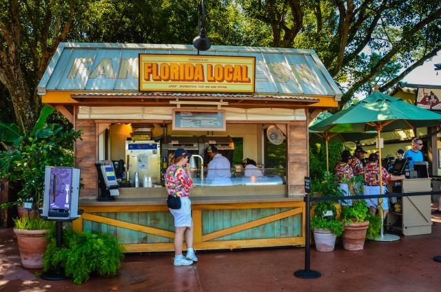 Florida Local Booth   Epcot Food and Wine Festival