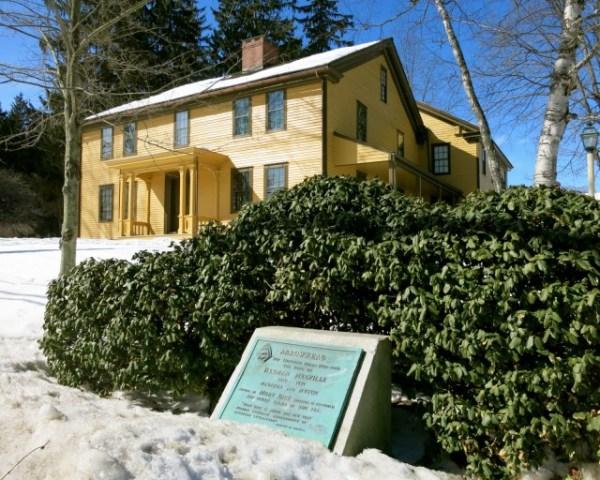 Arrowhead, home of Herman Melville, Pittsfield MA