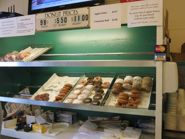 Martha's Vineyard Gourmet Café & Bakery by day, Back Door Donuts at night, Oak Bluffs, MA