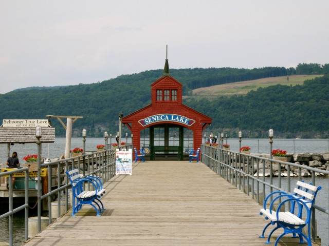 Seneca Lake Dock, Watkins Glen NY