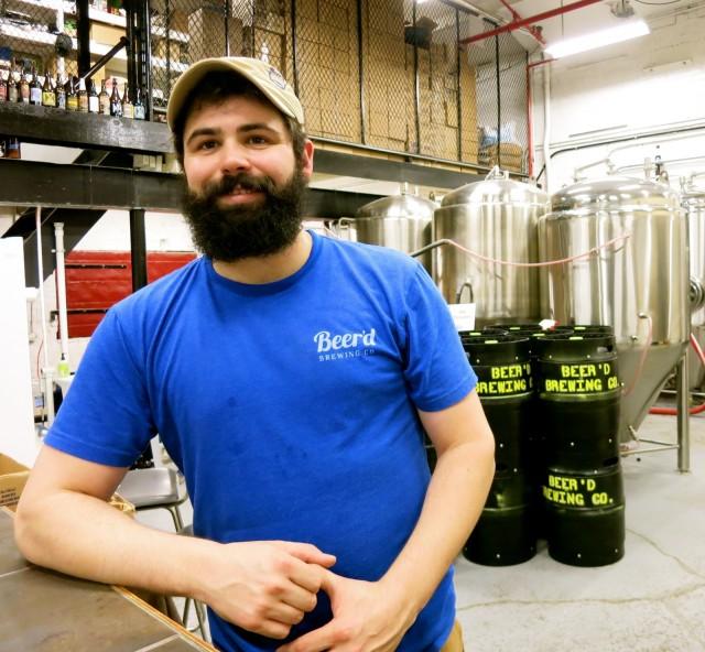 Aaren Simoncini, owner, Beer'd