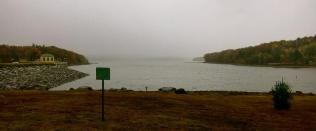 Lake Wallenpaupack in Mist