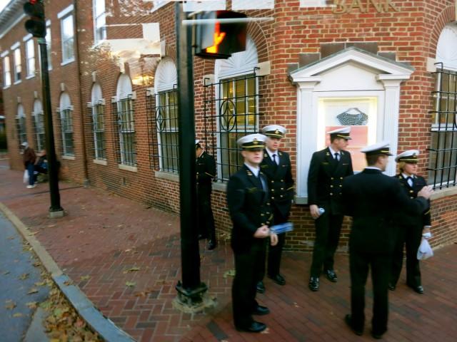Midshipmen in Annapolis MD