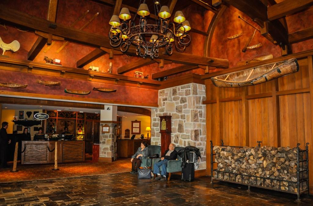 Fairmont Tremblant Lobby