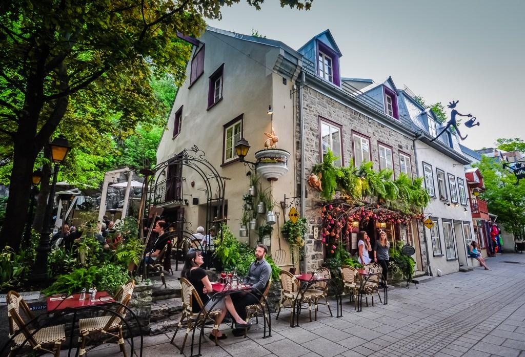 Le Lapin Sauté Restaurant - Quebec City