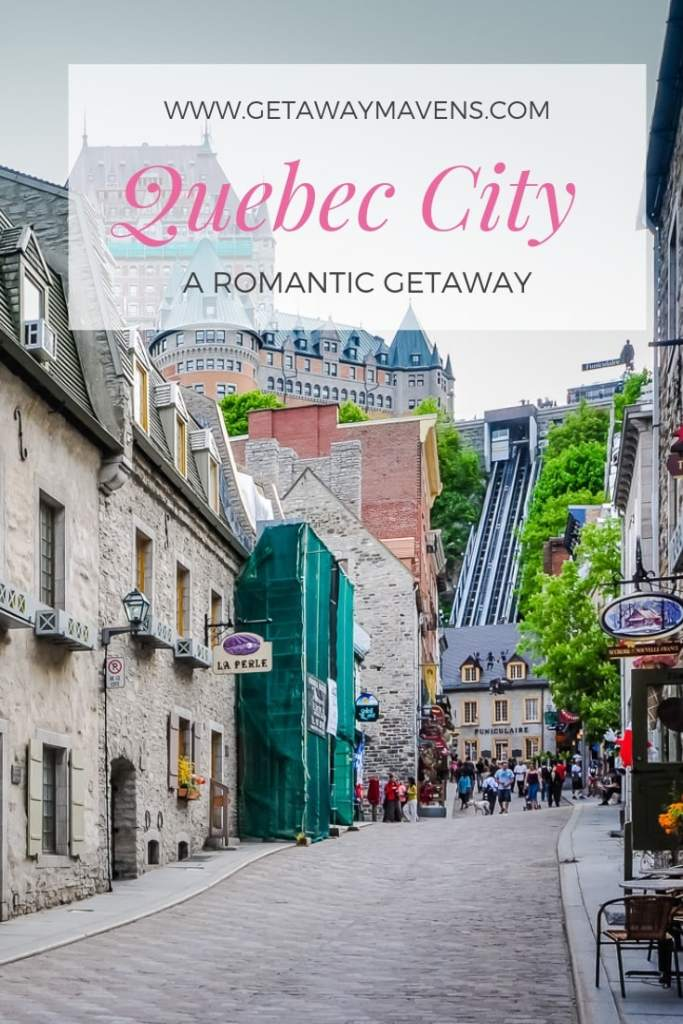 History makes Quebec City an interesting destination to explore on foot, but it's the old world European ambiance that makes it so romantic. #Quebec #romanticgetaway