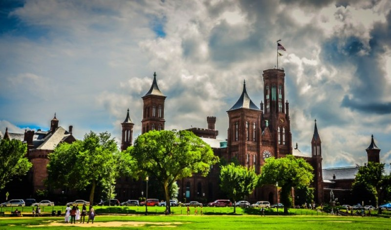 Smithsonian Castle - Washington DC in a Day