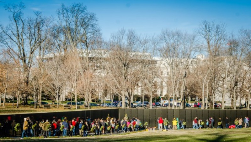 Vietnam Veterans Memorial - Washington DC ina Day