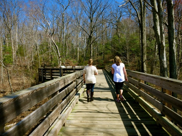 Boardwalk to Government Island Stone Quarry, VA