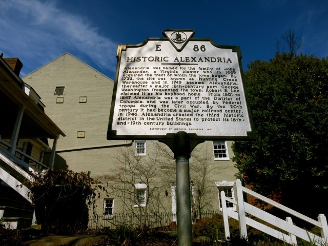Historic Alexandria VA Visitors Center