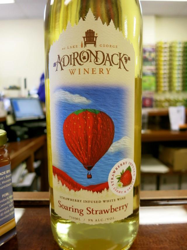 Adirondack Winery Soaring Strawberry