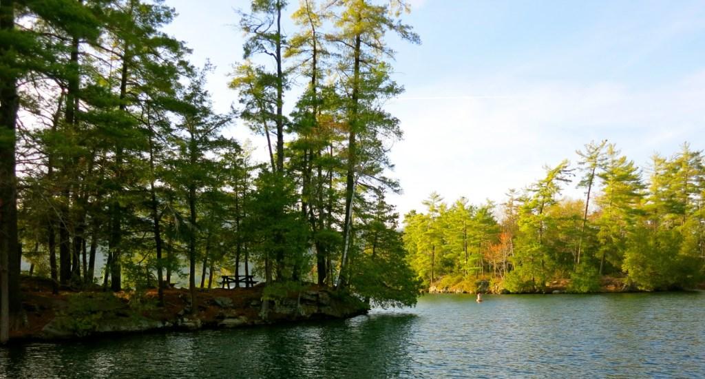 Lake George Island Campsites