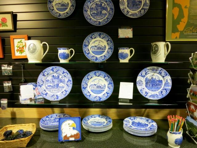 Coolidge Commemorative plates