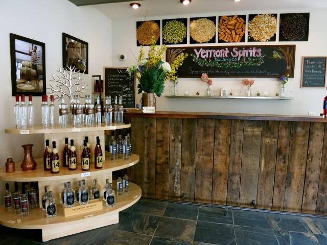Vermont Spirits Distillery, Quechee VT