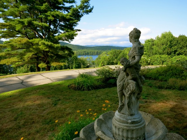 Squam Lake from Manor On Golden Pond NH