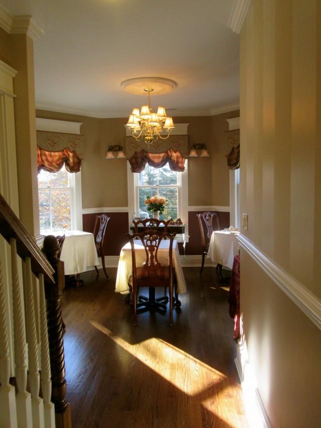 Breakfast Room, Tower Cottage BnB, Point Pleasant NJ