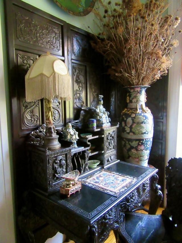 Asian antiques, Causey Mansion BnB, Milford DE