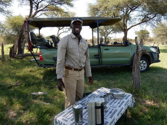 Guide Robert, Linkwasha Camp, Zim
