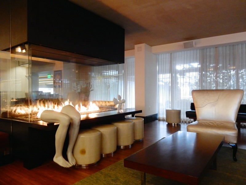 Living Room, J-House Hotel, Greenwich CT