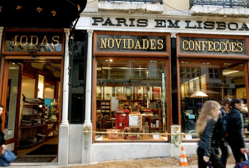 Paris Em Lisboa Linen Shop, Lisbon Portugal
