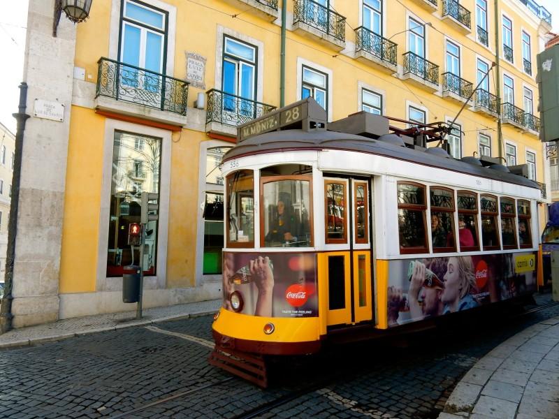 Tram 28, Lisbon Portugal