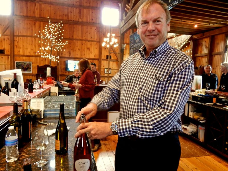 Mike Canney, Owner, Sunset Hills Vineyard VA