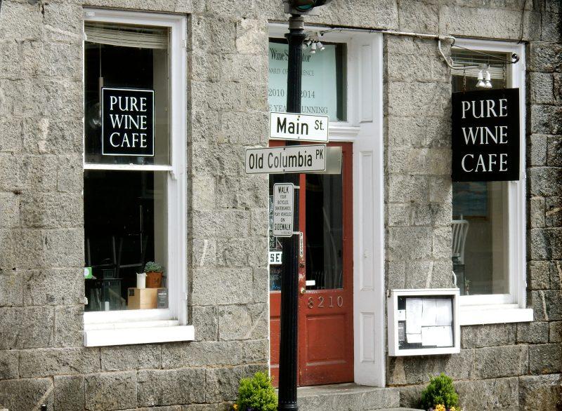 Pure Wine Cafe, Ellicott City MD @GetawayMavens