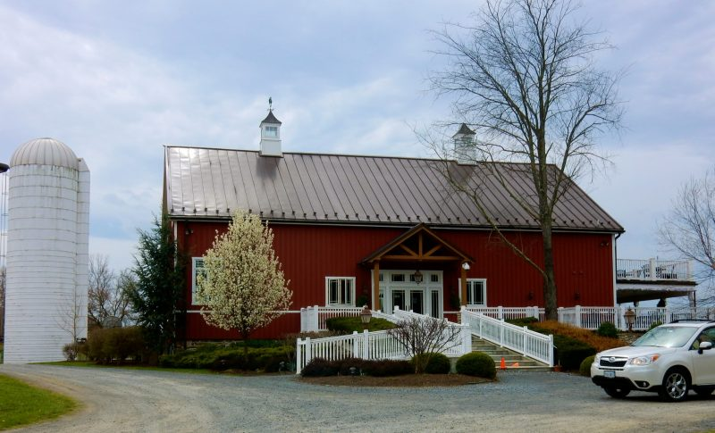 Sunset Hills Vineyard, Loudoun County VA