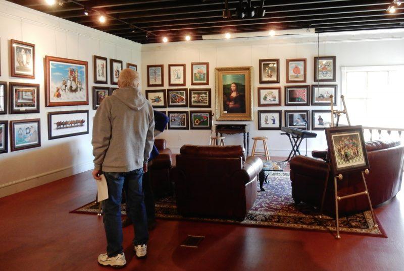 Art of Humor Gallery, Wilmington VT