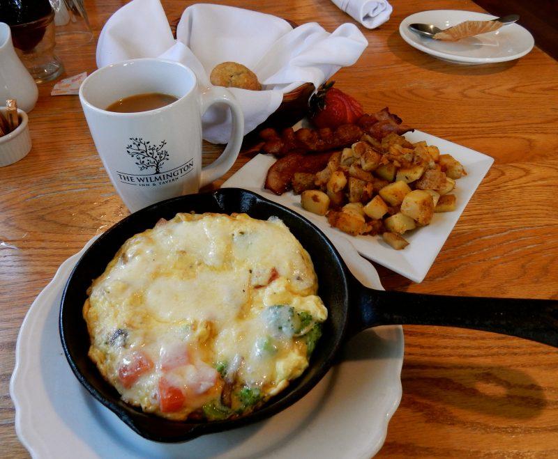 Cast Iron Breakfast, The Wilmington Inn and Tavern, Wilmington VT