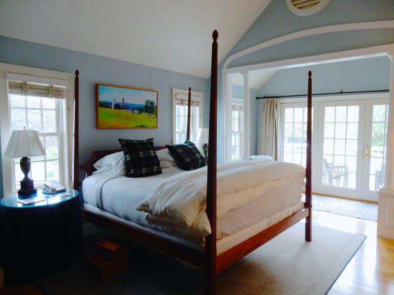 Guestroom, Four Columns Inn, Newfane VT
