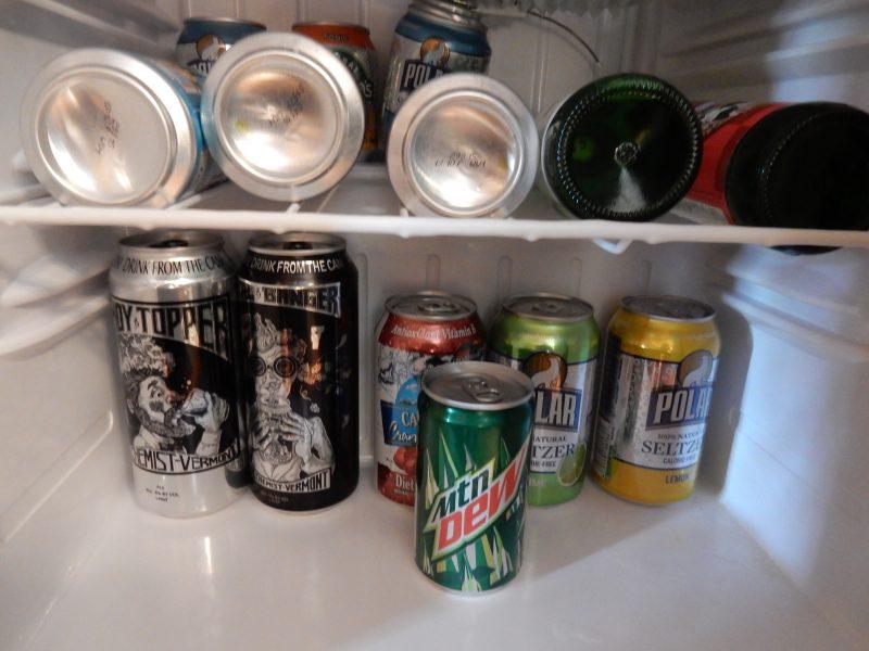 In Room Beer Treat, Made Inn Vermont, Burlington VT
