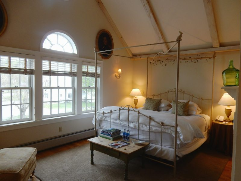 Room 10, Four Columns Inn, Newfane VT