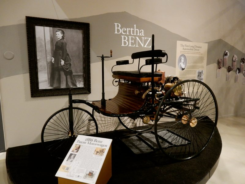Bertha Benz, Owls Head Museum, ME