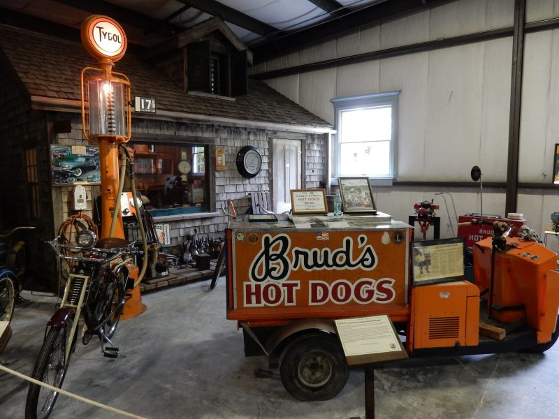 Bruds Hot Dog Cart, Boothbay Railway Village, ME