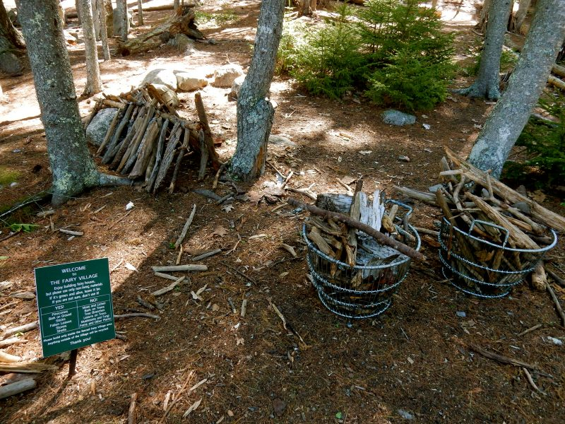 Fairy Village, Coastal Maine Botanical Gardens