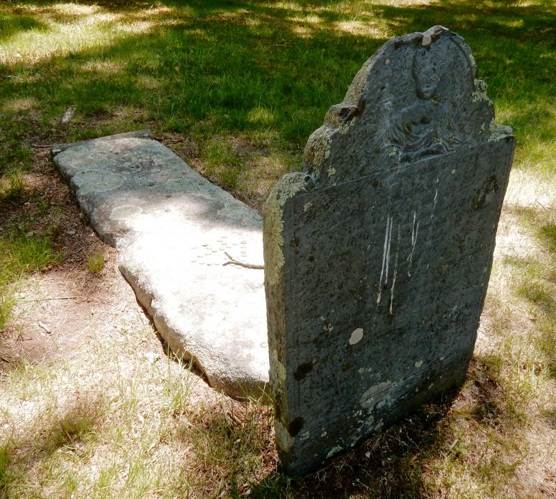Grave of Mary Nasson, York Village ME