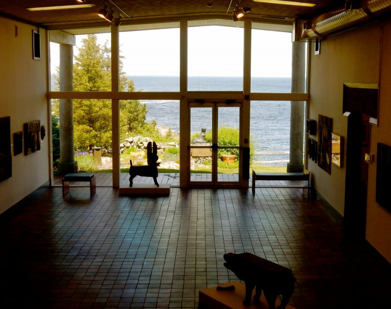 Lobby, Ogunquit Museum of American Art, Maine