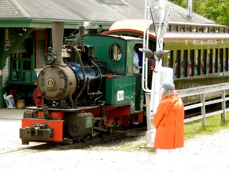 Narrow Gauge Train, Boothbay RR Village