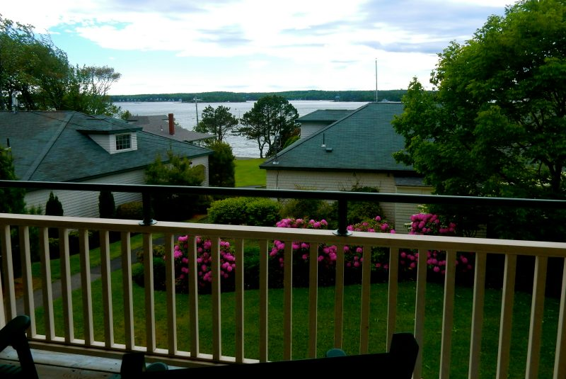 Spruce Point Inn Balcony View