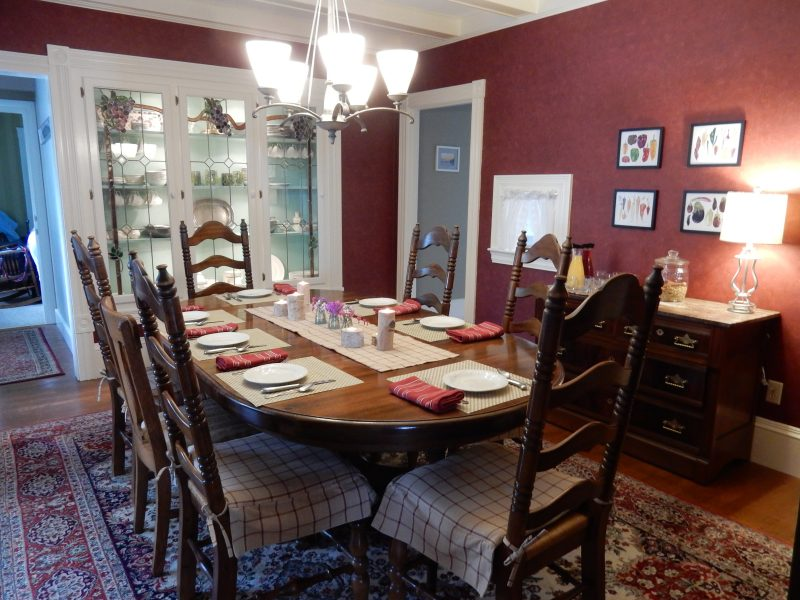 Dining Room, Peacock House, Lubec ME