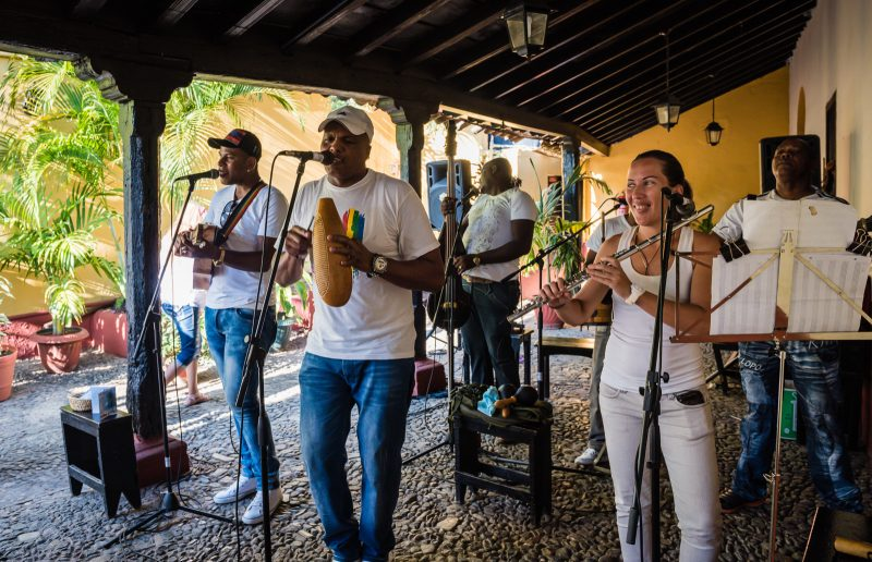 Band - La Canchara - Trinidad Cuba