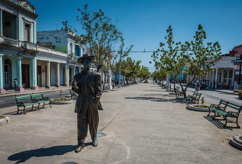 Benny More Statue - Cienfuegos
