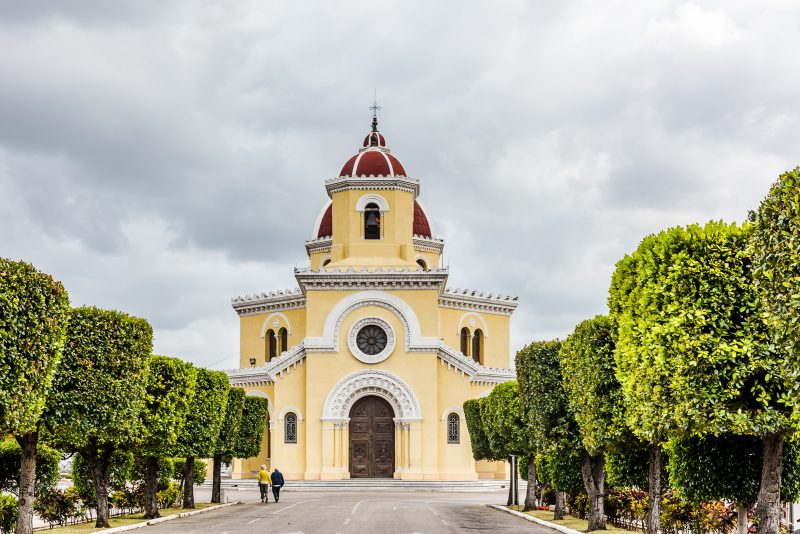Chapel - Colon Cemetery - Havana Cuba