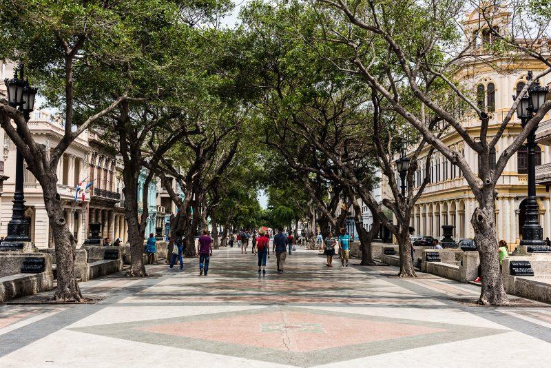 Paseo del Prado - Havana Cuba