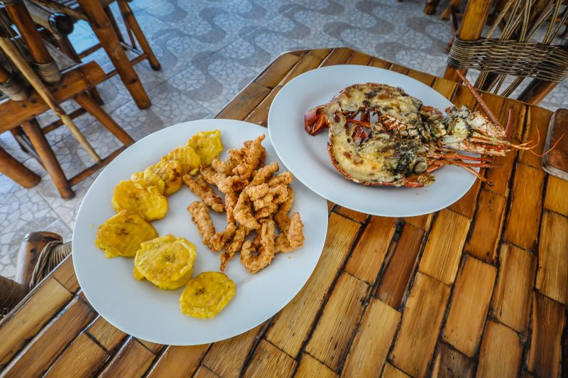 Platanos and Lobster