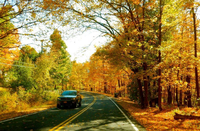 ulster-county-ny-back-road