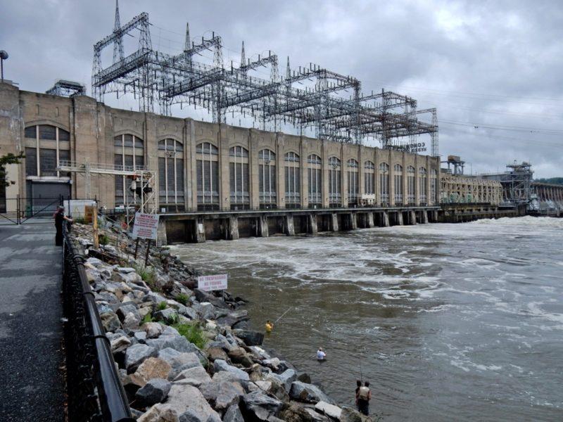 Conowingo Dam on the Susquehanna River MD